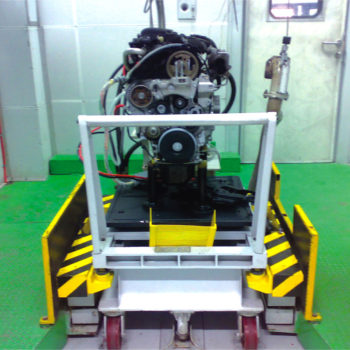 Containerised Firing Test Bed