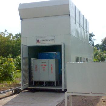 Containerised Genset Test Rig