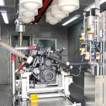 Bus Engine Testing
