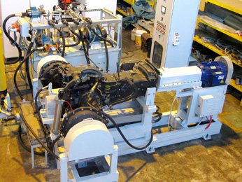 Transmission Test Rig New Holland