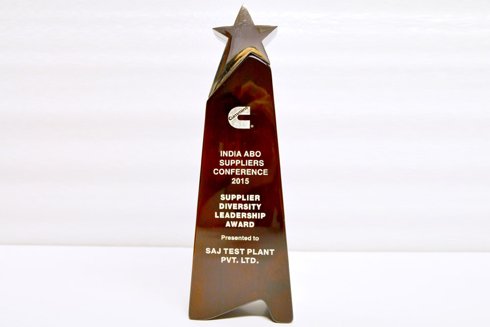 Sajdyno - Supplier Diversity Leadership Award Cummins