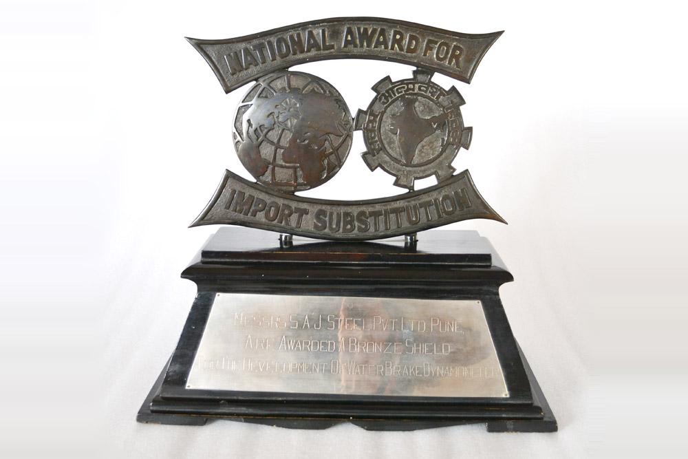 Sajdyno – National Award for the Development of Water Brake Dynamometer
