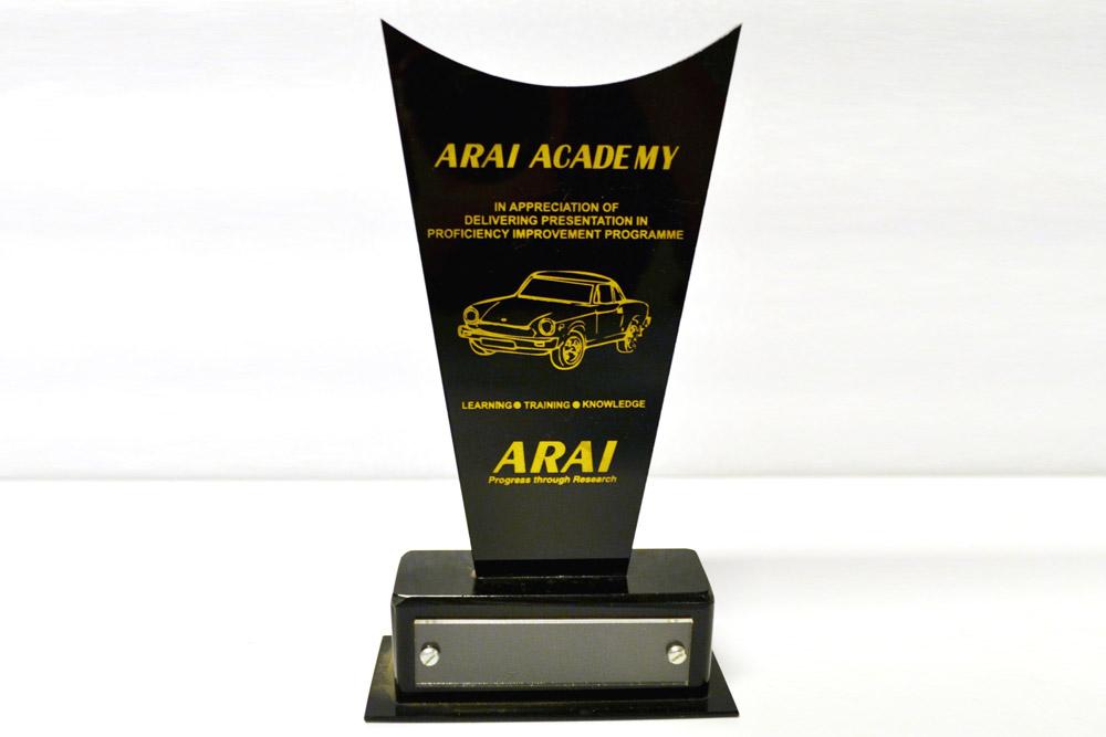 Sajdyno – Delivering Presentation in Proficiency Improvement Programme ARAI Academy