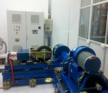 Hub Motor Test Rig